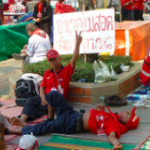 Thailand in red